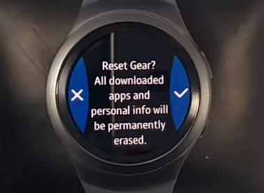 Samsung Gear S2 - сброс на заводские настройки | factory-reset ru